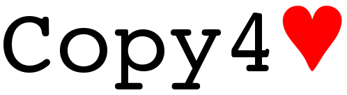 COPY4LOVE logo